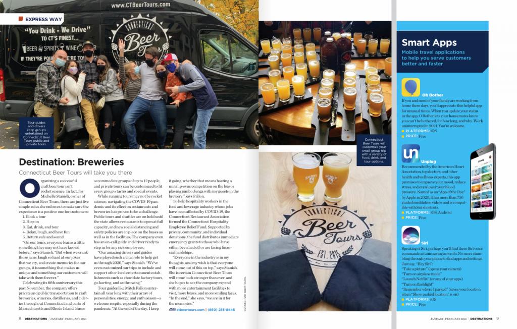 destination connecticut breweries